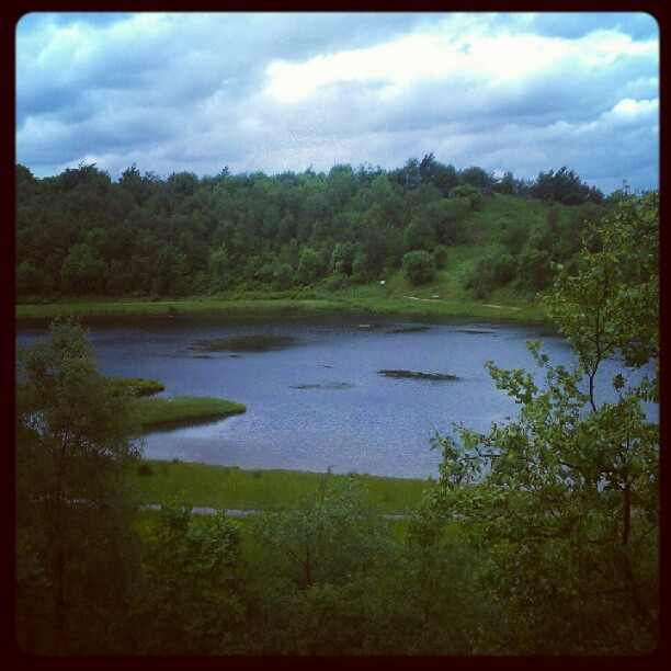horton Bank country park lake