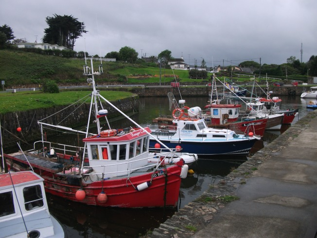 Lovely Fishing Boats in Wicklow County