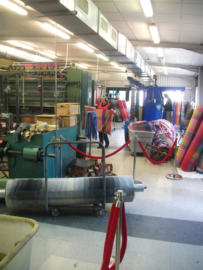 Inside Avoca Handweavers