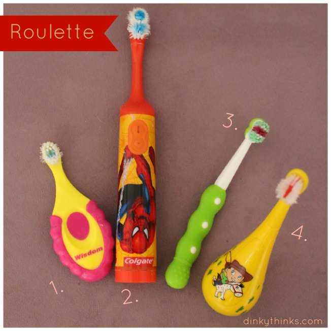 Toothbrush roulette